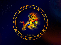 Zodiac signs  screensavers  nfsLeo