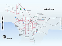 Metro maps  screensavers  nfsLosAngelesMetroMap