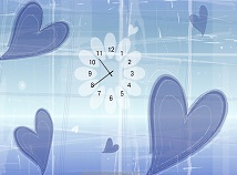 Clocks  screensavers  nfsLoveHearts