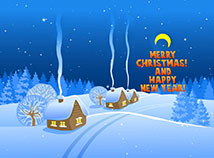 Christmas  screensavers  nfsLunarVillage
