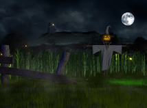 Halloween  screensavers  nfsMagicNight3D