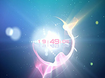 Digital Clock  screensavers  nfsMagicSun