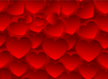 St. Valentines  screensavers  nfsManyHearts