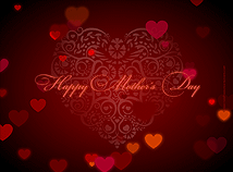 Mother`s Day  screensavers  nfsMothersDayHeart