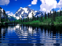 Mountains  screensavers  nfsMountainLake02