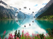 Clocks  screensavers  nfsMountainsWater