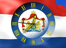 Flag Clock  screensavers  nfsNetherlandsFlagClock
