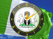 Flags  screensavers  nfsNigeriaAnalogClock