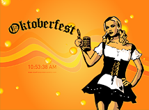 Oktoberfest  screensavers  nfsOctoberfestGirl