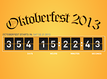 Oktoberfest  screensavers  nfsOctoberfest2013Countdown