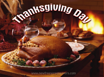 Thanksgiving day  screensavers  nfsOvenRoastedTurkey