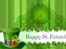 St. Patrick`s Day  screensavers  nfsPatrick3