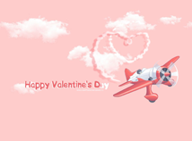 St. Valentines  screensavers  nfsPlaneHeart