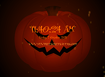Halloween  screensavers  nfsPumpkinAndSkull