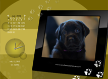 Calendar  screensavers  nfsPuppies