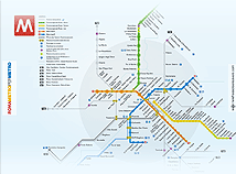 Metro maps  screensavers  nfsRomeMetroMap