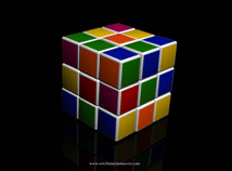 3D  screensavers  nfsRubik`sCubeAnimation