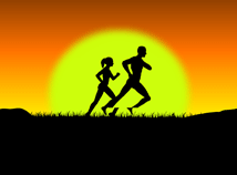 Running  screensavers  nfsRunningMenAndWomen