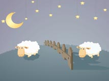 Animals  screensavers  nfsSheepthroughaFence