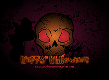 Halloween  screensavers  nfsSkull