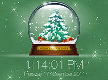 Holidays  screensavers  nfsSnowGlobe