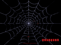 Halloween  screensavers  nfsSpiderClock