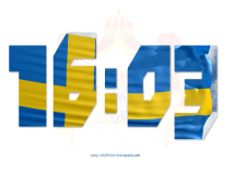 Sweden  screensavers  nfsSwedenDigitalClock