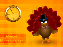Thanksgiving day  screensavers  nfsThanksgivingTurkey2