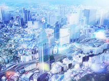City view  screensavers  nfsTownPanorama