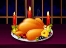 Thanksgiving day  screensavers  nfsTurkeyCandle