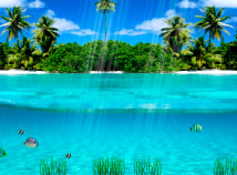 All  screensavers  nfsUnderwaterParadise