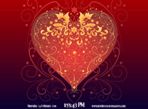 St. Valentines  screensavers  nfsValentineHearts3