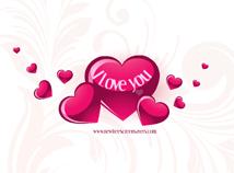 St. Valentines  screensavers  nfsValentineHearts5
