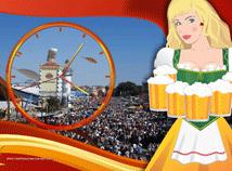 Oktoberfest  screensavers  nfsWaitressClock