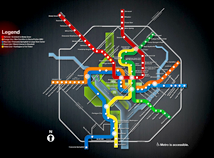 Metro maps  screensavers  nfsWashingtonMetro