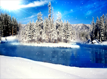 Winter  screensavers  nfsWinterLandscape
