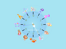 Zodiac Clock  screensavers  nfsZodiacClock3