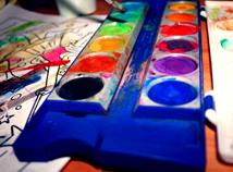 Aquarellfarbe