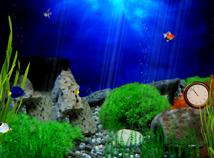 Aquarium02Clock