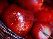 Ferien Äpfel